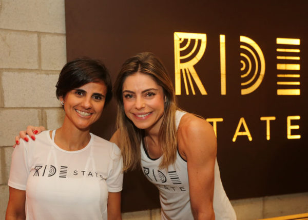 The partner of Ride State, Priscilla Lopes de Almeida, and Daniela Cicarelli