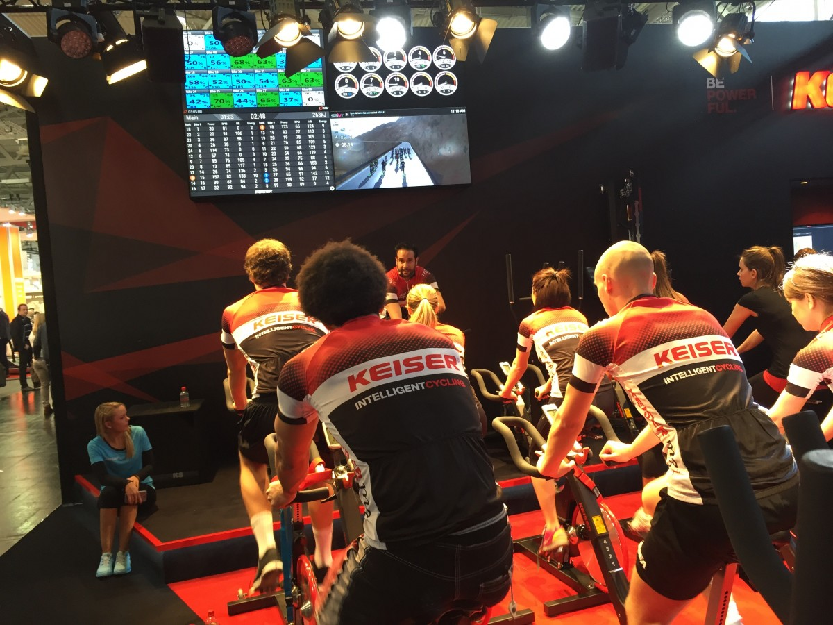 Interactive Cycling Studio Software